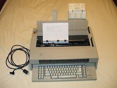 Ibm Wheelwriter 5 Electric Typewriter 674x 2 Nib Ribbon Cartridge Reference Card