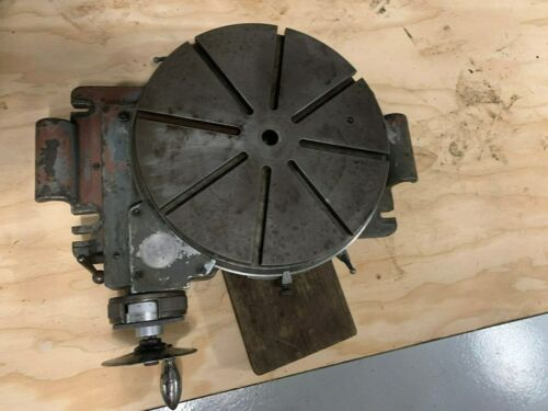 Precision Switzerland Made Rotary Table 12 Inch Low Profile