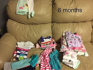 6 months girls clothing lot