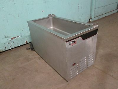Apw Wyott H.d. Commercial Counter-top Self-contained Refrigerated Cold Pan