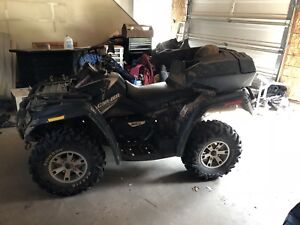 2007 can am 650 Max XT 2 up