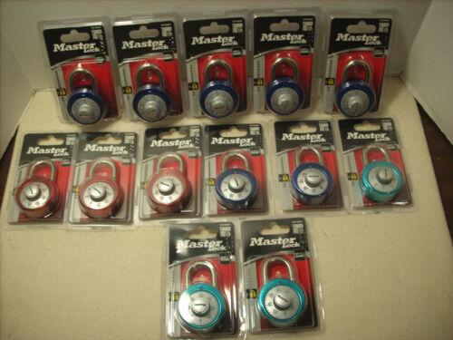 Master Lock 1561DAST Combination Dial Padlock 13 total NEW