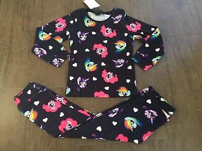 Neu 🦄H&M🦄 My Little Pony Pyjama Schlafanzug Gr. 110/116 ()