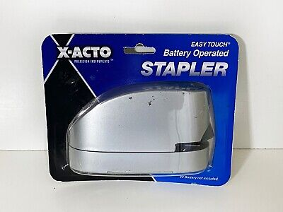 X-acto Battery Operated Stapler Brand New Sealed