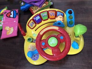 vtech steering  toys with music
