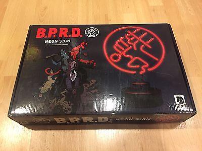 Darkhorse Comics B.P.R.D. BPRD Logo Hellboy OFFICIAL Neon Sign! Upcoming Movie!