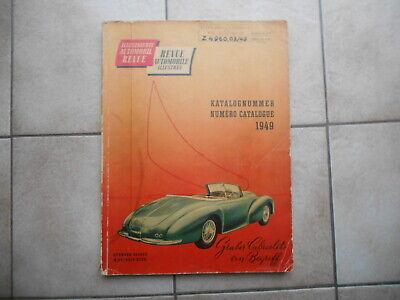Automobil Revue Katalog 1949  :  aus Steyr-Daimler-Puch Bücherei !