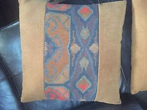 Square accent pillows
