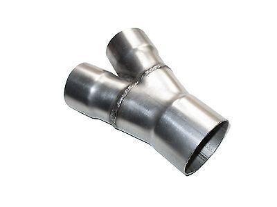 Y-Rohr universal Auspuff Rohr Abgasrohr Y-Pipe Ø 50 auf Ø 42 mm  gebraucht kaufen  Bernburg