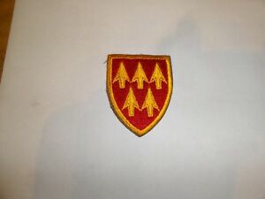 MILITARY PATCH OLDER GERMAN MADE AIR DEFENSE ARTILLERY