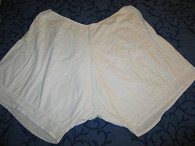 Antique Victorian Pantaloons~Bloomers~Panties Hand Made Lace~XLarge