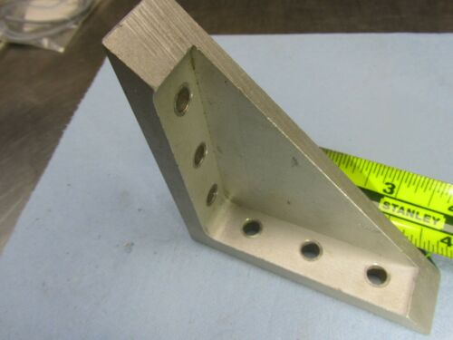 (LOT OF 4) Heavy Duty Corner Fitting Angle L Bracket Industrial Aluminum Gusset