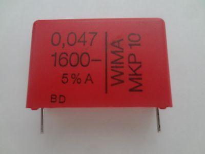 Capacitor Wima Mkp10 0.047uf 1600v 5