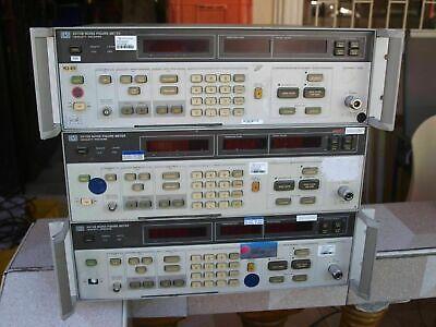 Lot 3pcs Hp Agilent 8970b Noise Figure Meter