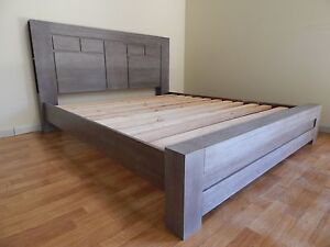 King size super solid bed frame heavy SYDNEY DELIVERY & ASSEMBLY Windsor Hawkesbury Area Preview