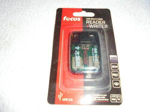 FOCUS USB MULTI CARD READER & WRITER