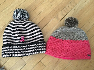 Girls toques (kids size up to about 8) (2 for $5)