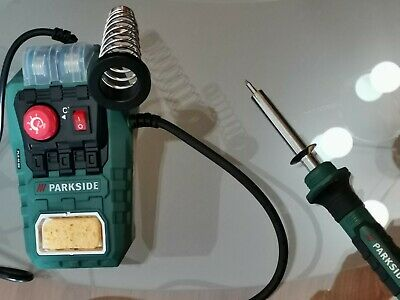 Soldering Station Parkside 48w Model Pls 48 D2.brand New With Accessories.