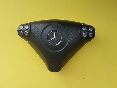 Genuine Mercedes SLK W171 SPORT STEERING WHEEL AIRBAG