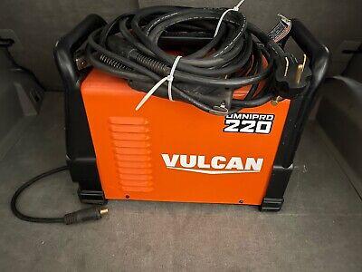 Vulcan 220 Industrial Multiprocess Welder 120240 Volt Input Mig Tig Stick