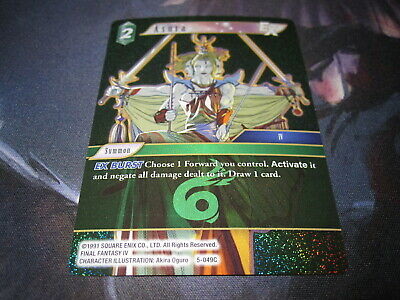 Final Fantasy TCG Opus 5 Common Cards
