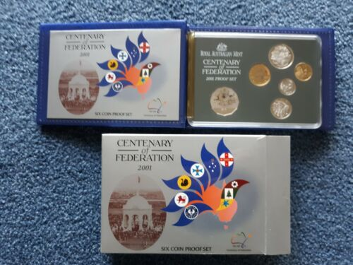 AUSTRALIA PROOF SET 2001