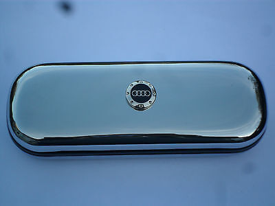 AUDI TT R8 A4 car brand new chrome glasses case great gift!!! Birthday Xmas