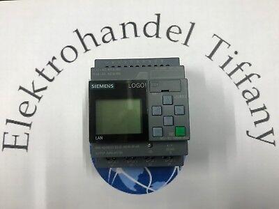 Siemens 6ED1052-1MD00-0BA8 LOGO! 12/24RCE Logikmodul Display 12/DC 24V/Relais