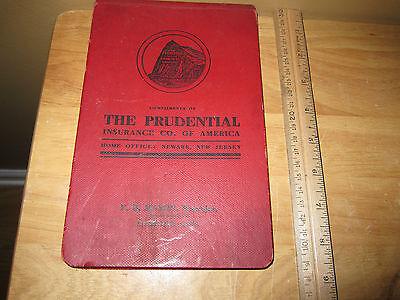 1906 Prudential Insurance Co  Of America Calendar Book Litchfiled Connecticut