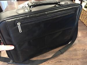 Beautiful Leather Laptop / Briefcase