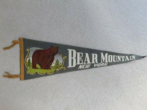 Vintage Bear Mountain New York Pennant