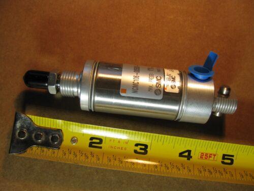 SMC NCMC106-0050S-X163US Pneumatic Air Cylinder 250PSI Single Acting Spring Retu