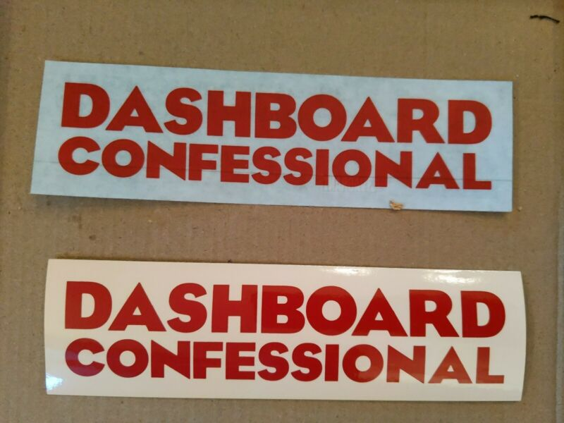 2 Dashboard Confessional Dusk and Summer  Promo Stickers different styles. free