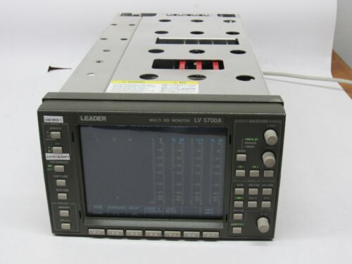 Leader LV5700A HD/SDI Waveform Vectorscope Monitor