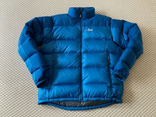 Rab Arete Down Jacket Blue L / Large RRP £200
