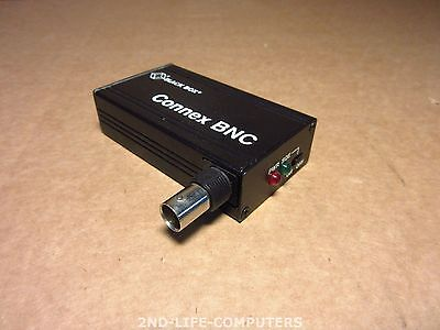 BLACK BOX LE2005A GCPID6D4AA  BNC TRANSCEIVER AUI PORT - Excl Cables