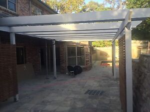 Timber Pergola Hunters Hill Hunters Hill Area Preview