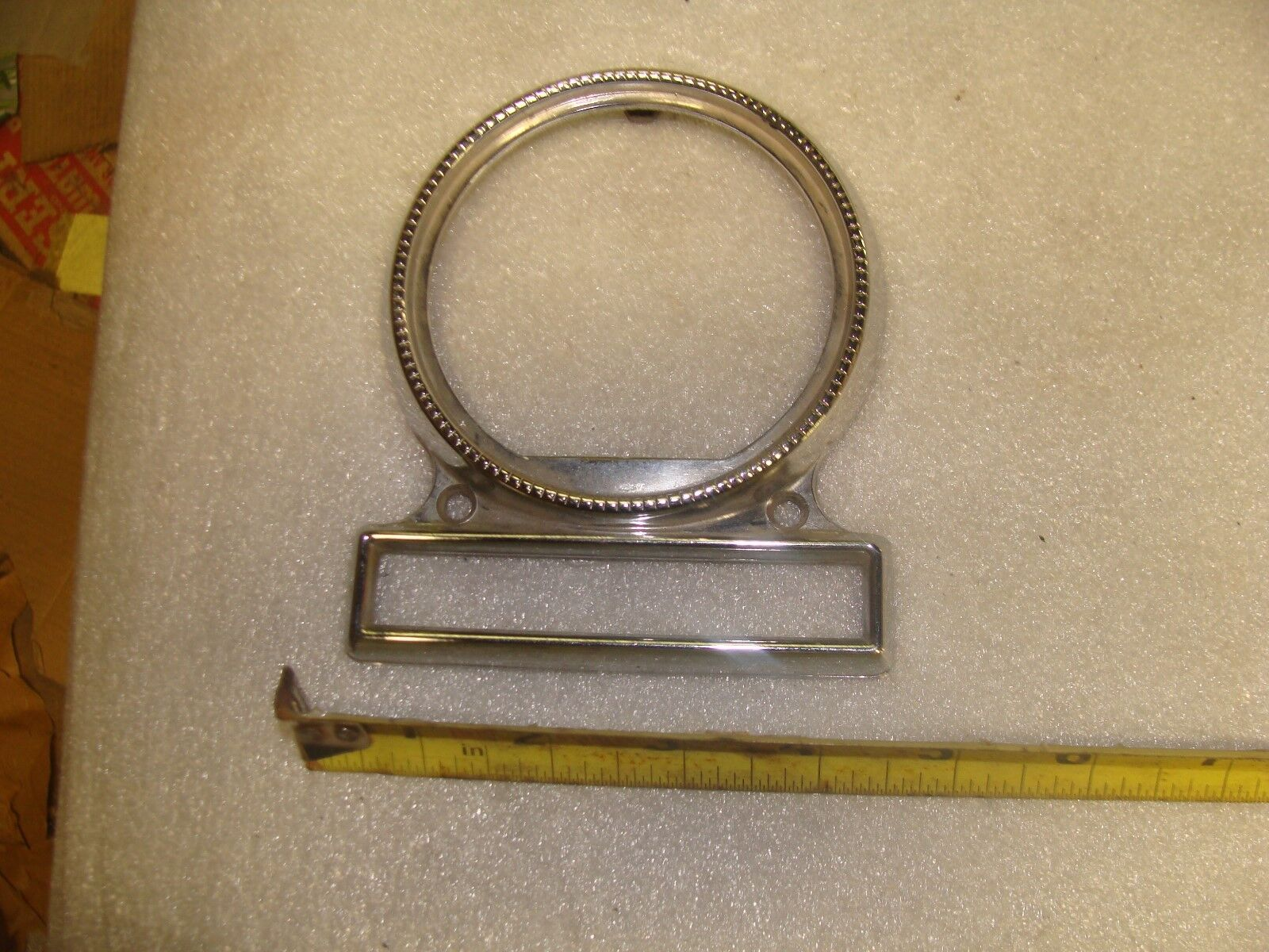 1955 Ford radio face plate.  A