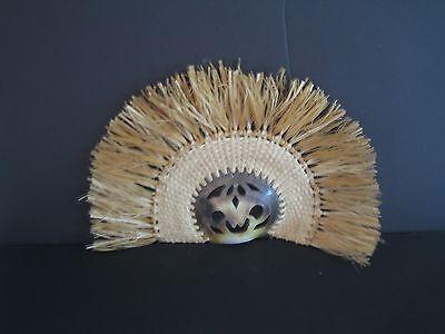 art- abalone shell fans - Tonga - 1990
