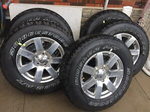 Brand new dealer take off wheels and tires. Keep Wrangler jk