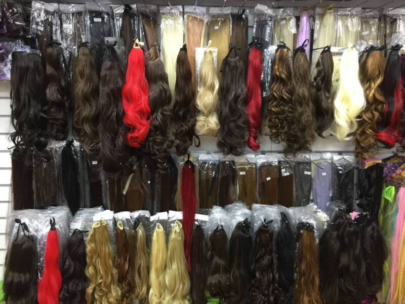 Synthetic Ponytail Hair Extensions On Sale In Adelaide Cbd