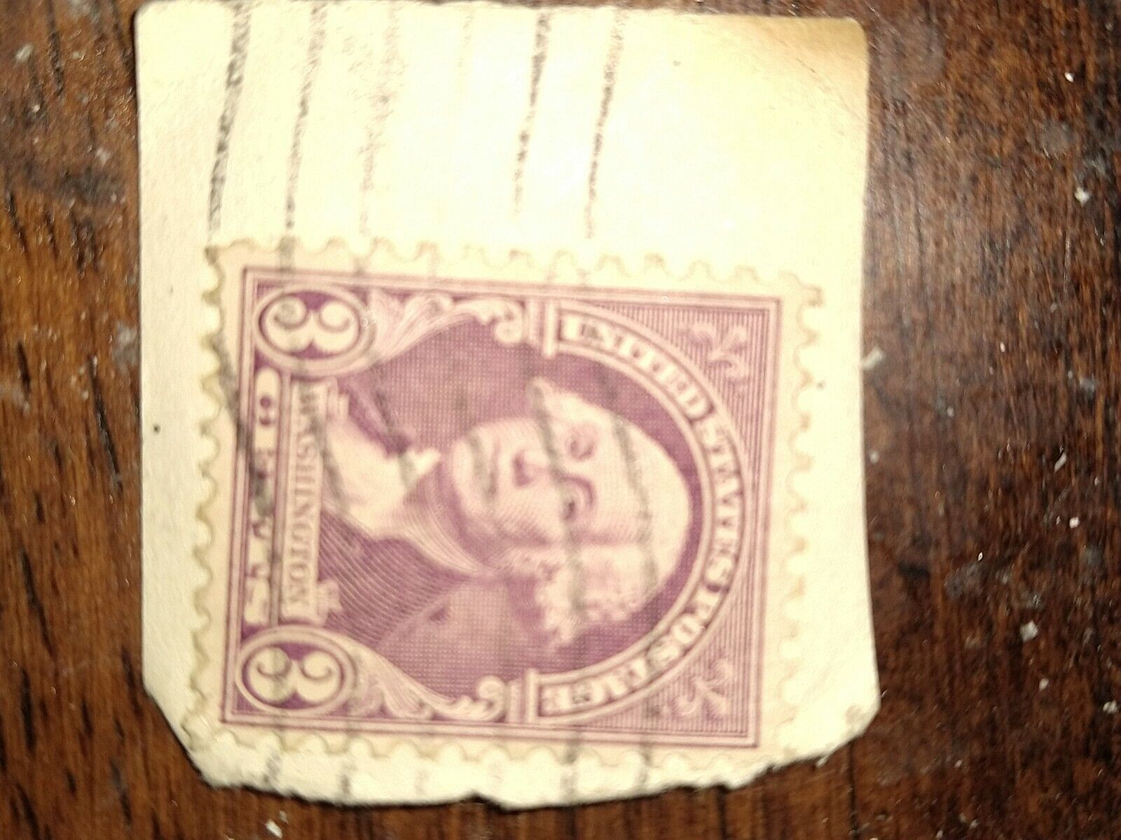 George Washington 3 Cent Stamp Rare Stamp Used - $150.00
