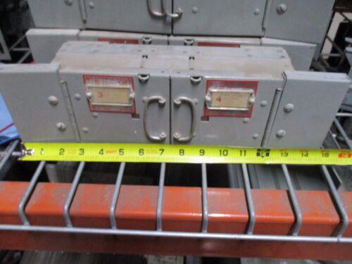 Frank Adam Klampswfuz Ksf6322/ksf3333 60a/30a 240v Twin Panelboard Switch Used