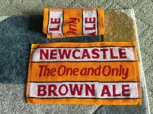 Lot of 3 Unused Newcastle Brown Ale Bar Towels