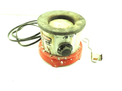 American Beauty Model 600 2-1/2 Lbs. Solder Pot 600W w/ Rake & Sn60Pb40 Solder