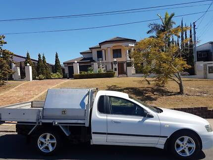 2005 BA MkII Ford Falcon 1 tonner Ute with Lockable Tool Boxes