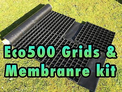 6x6 GARDEN SHED BASE KIT 2X2 M 6.6X6.6 FEET GREENHOUSE BASE GRID ECO PAVING SLAB