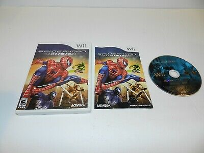 Foe Wii - Spider Man Friend or Foe Nintendo Wii Game Complete CIB Tested