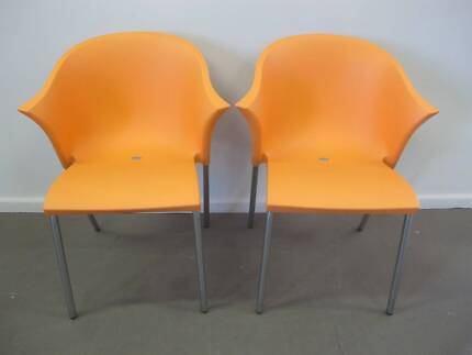 AS NEW 2 x OUTDOOR BALCONY WING BACK CHAIRS Tempe Marrickville Area Preview