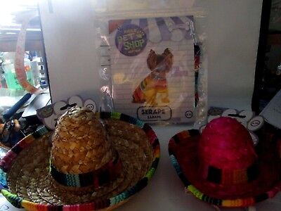 M&m Poncho Costume (CHOICE Rubie's Pet Shop Dog Costume Sombrero Poncho (Serape) S/M M/L FAST SHIP)